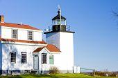 Faro luz de Fort Point, Stockton Springs, Maine, Estados Unidos