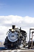 Cumbres and Toltec Narrow Gauge Railroad, Antonito, Colorado, USA