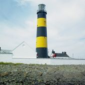 lighthouse, St. John's Point, County Down, Northern Ireland