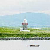 lighthouse, Rosses Point, County Sligo, Ireland