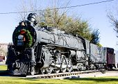 steam locomotive, Kingman, Arizona, USA