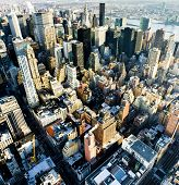 image of northeast  - view of Manhattan from The Empire State Building - JPG