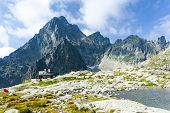 Five Spis Tarns and Teryho Cottage, High Tatras (Vysoke Tatry), Slovakia