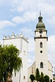 St. Anthony's church and belfry, Spisska Bela, Slovakia