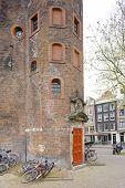 Постер, плакат: Waag Амстердам Нидерланды