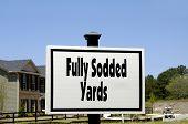 Fully Sodded Yards