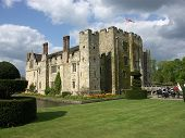 picture of hever  - Hever Castle - thirteenth century romantic castle in England