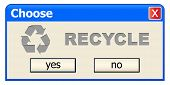 choose recycle
