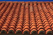 Croatian style, famous tiled roof