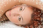 picture of starlet  - beauty redheaded close - JPG