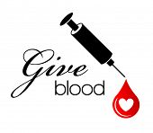 Give Blood - Heart Drop