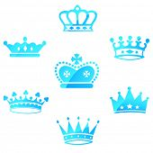 Set of Royal Crowns - See other color options