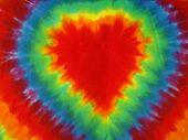 Tye Dye Hearts