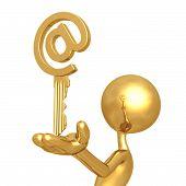 Golden Email Key
