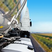 stock photo of big-rig  - Cropped - JPG