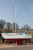 Sailboat Ashore