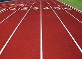 Six Lane Running Track