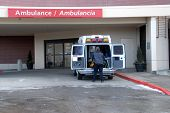 Ambulance At Hospital 4