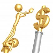 Working Together For Gold Dollar