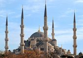 Blue Mosque Of Istanbul, Turkey