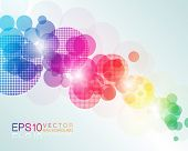 EPS10 Colorful Vector Background