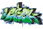 Grafite - menina