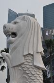 Merlion Statue in Singapore