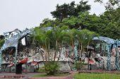 Haw Par Villa Gardens in Singapore