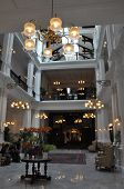 The Raffles Hotel in Singapore