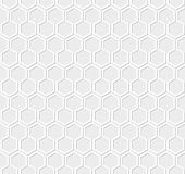 White honeycomb pattern