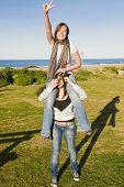 Teenage Sisters Having Fun