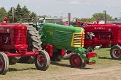 Colorful Tractors