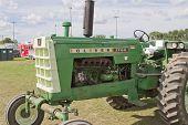 Antique Green Oliver 1750 Diesel Tractor