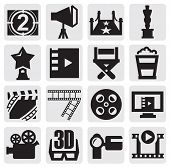 vector movie icons