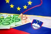 Infusion into Slovenian Euros - euro crisis