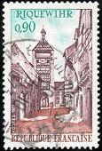 Stamp Riquewihr