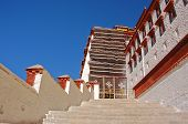 Staircases In Potala Palace
