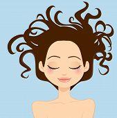 Woman Wild Hair