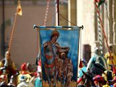 stock photo of jousting  - Arezzo  - JPG