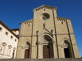 Arezzo - the Gothic Cathedral of Saint Donatus