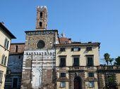 Lucca - the romanesque San Giovanni church
