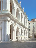 picture of vicenza  - Basilica by Palladio in Vicenza Italy - JPG