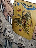 Siena - Contrada dell bandera de Aquila