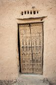 pic of dogon  - Traditional wooden door with decorations in a Dogon village Mali Africa - JPG