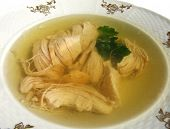 Jellied Chicken Breast And Greens Of Ukrainian Cuisine