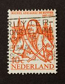 Holland - Circa 1950: Stamp Printed In The Netherlands