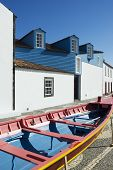 Facade Of The Whalers Museum In Lages Do Pico, Azores
