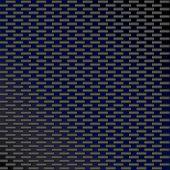 Fibra de carbono sin costura azul