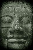 Meditating Buddha Face