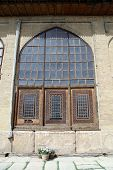 foto of shiraz  - Window of palace in fortress Arg - JPG